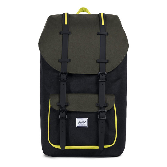 Herschel Mens Black Little America Backpack main image