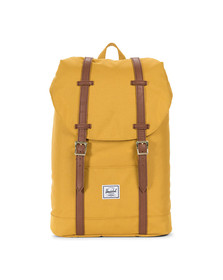 Herschel Mens Yellow Retreat Mid Bag
