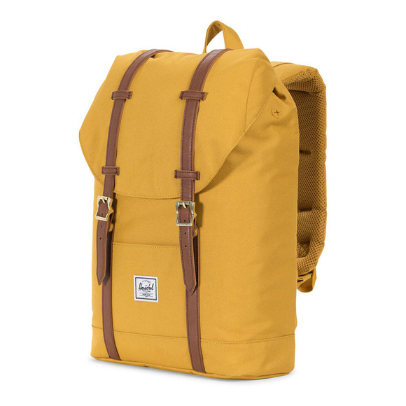 Herschel Mens Yellow Retreat Mid Bag main image