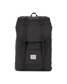 Herschel Mens Black Retreat Mid Bag