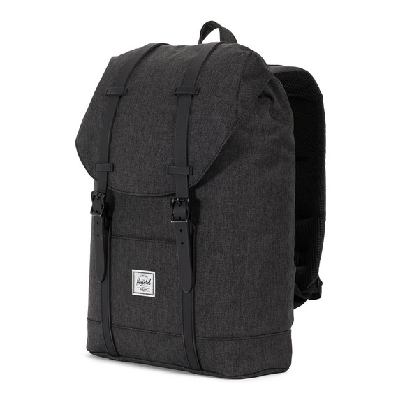 Herschel Mens Black Retreat Mid Bag main image