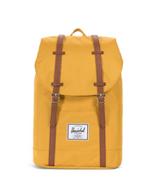 Herschel Mens Yellow Retreat Backpack