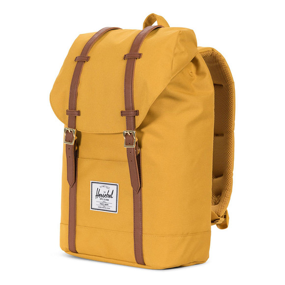 Herschel Mens Yellow Retreat Backpack main image