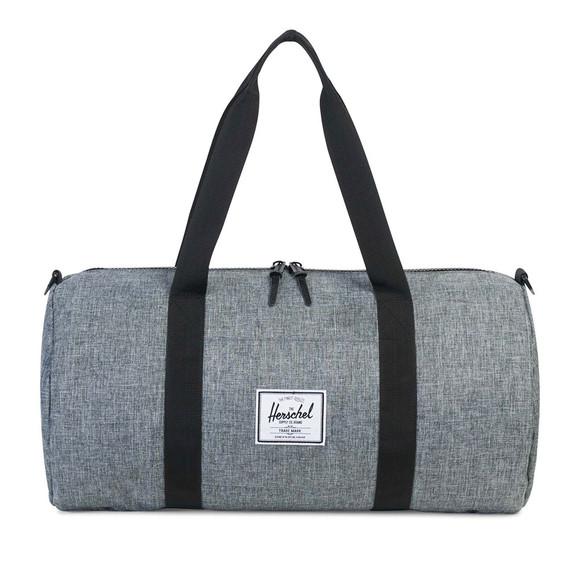 Herschel Mens Black Sutton Mid Duffle Bag main image