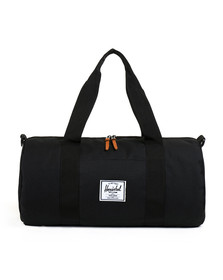 Herschel Mens Black Sutton Mid Duffle Bag
