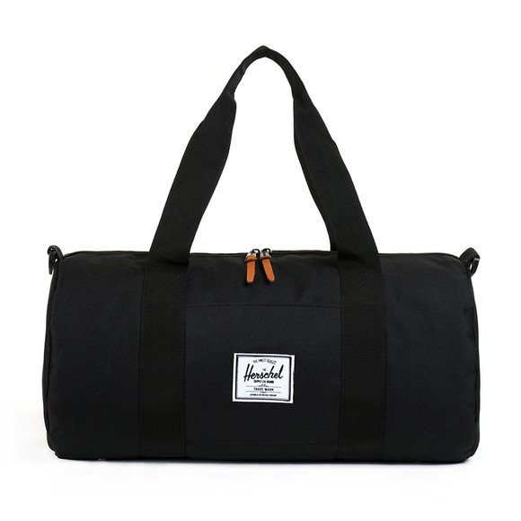 Herschel Mens Black Sutton Mid Duffle Bag main image