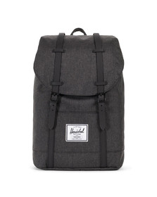Herschel Mens Black Retreat Backpack