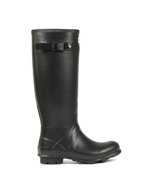 Hunter Womens Black Norris Field Neoprene Lined Boot