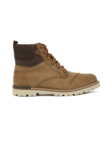 Toms Mens Brown Ashland Waterproof Suede Boot