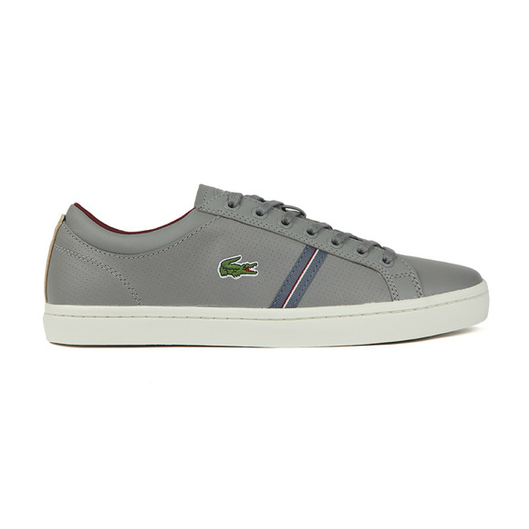 Lacoste Mens Grey Straightset Sport 318 Cam Trainers main image