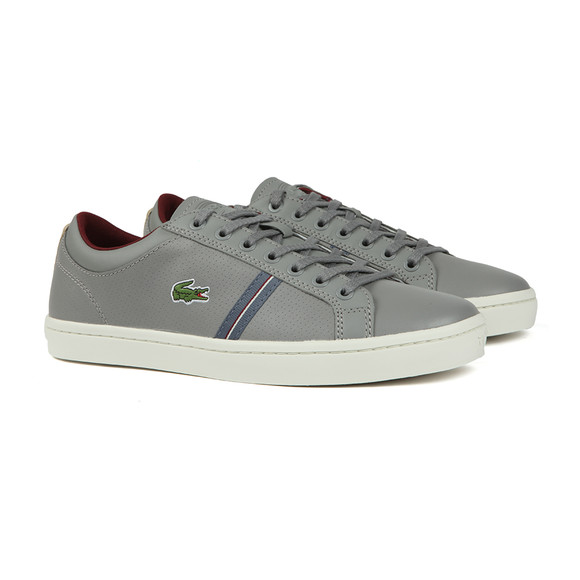 Lacoste Mens Grey Straightset Sport 318 Cam Trainers