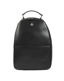 Vivienne Westwood Mens Black Kent Leather Backpack