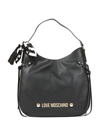 Love Moschino Womens Black Borsa Soft Grain PU Bag