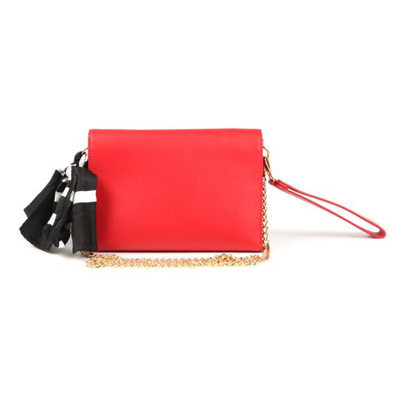 Love Moschino Womens Red Borsa Soft Grain PU Shoulder Bag main image