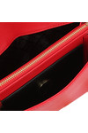 Love Moschino Womens Red Borsa Soft Grain PU Shoulder Bag