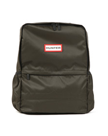 Hunter Mens Green Original Nylon Backpack