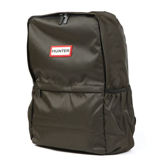 Hunter Mens Green Original Nylon Backpack main image