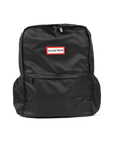 Hunter Mens Black Original Nylon Backpack