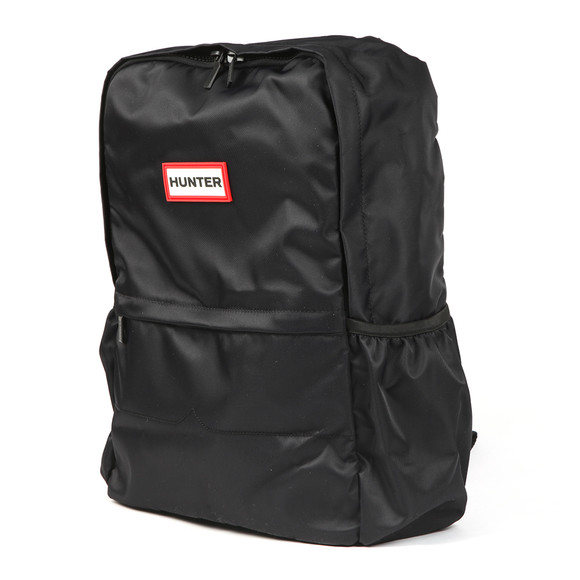 Hunter Mens Black Original Nylon Backpack main image