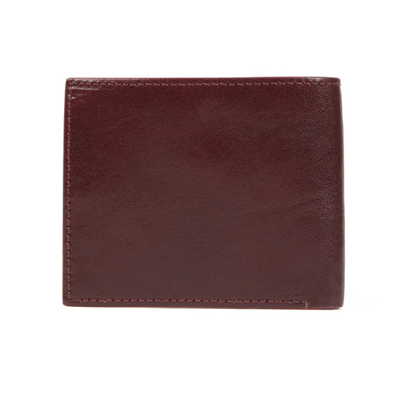 Ted Baker Mens Red Spidey Contrast Edge Bifold Wallet main image