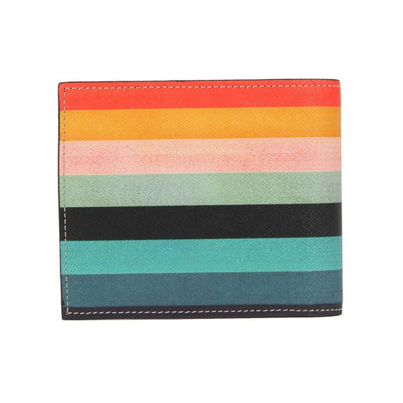 Paul Smith Mens Black Mixed Art Stripe Wallet main image