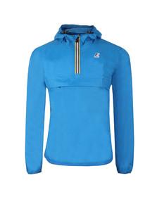 K-Way Mens Blue Le Vrai 3.0 Leon 1/2 Zip Jacket