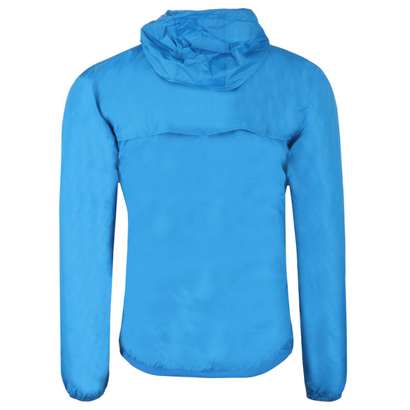 K-Way Mens Blue Le Vrai 3.0 Leon 1/2 Zip Jacket main image