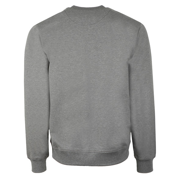 Love Moschino Mens Grey Box Logo Sweatshirt main image