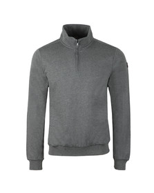Paul & Shark Mens Grey Half Zip Sweatshirt