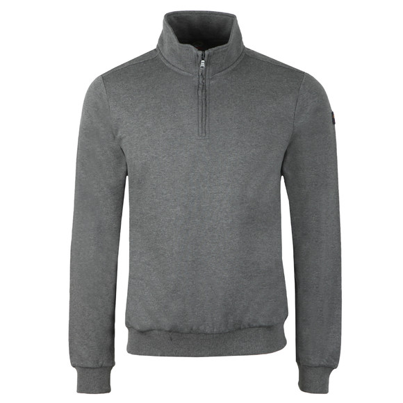 Paul & Shark Mens Grey Half Zip Sweatshirt main image