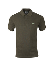 Lacoste Mens Green  L1264 Plain Polo
