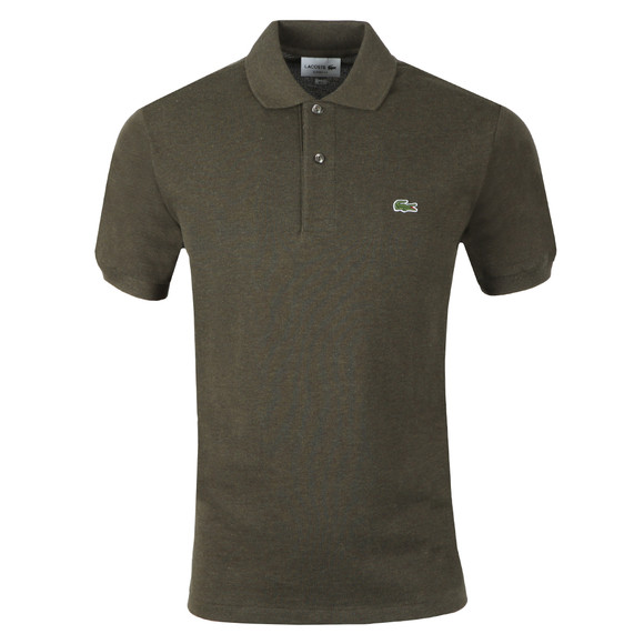 Lacoste Mens Green  L1264 Plain Polo main image