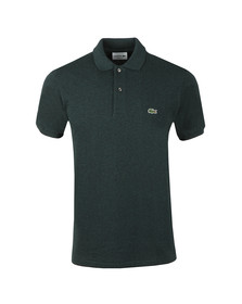 Lacoste Mens Green Lacoste L1264 Plain Polo