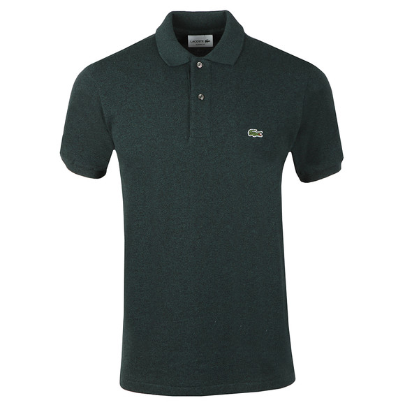 Lacoste Mens Green Lacoste L1264 Plain Polo main image