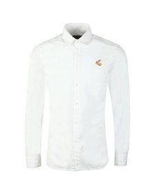 Vivienne Westwood Anglomania Mens White Classic Shirt