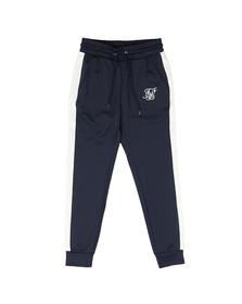 Sik Silk Mens Blue Taped Cuffed Pants