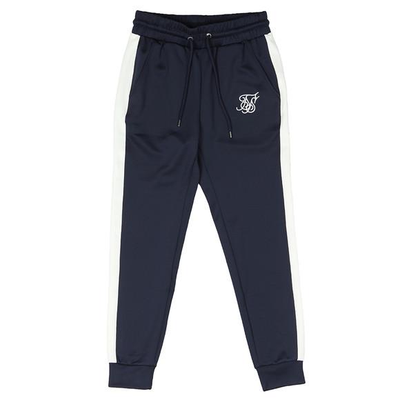 Sik Silk Mens Blue Taped Cuffed Pants main image
