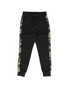 Sik Silk Mens Black Venetian Taped Cropped Pants