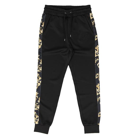 Sik Silk Mens Black Venetian Taped Cropped Pants main image