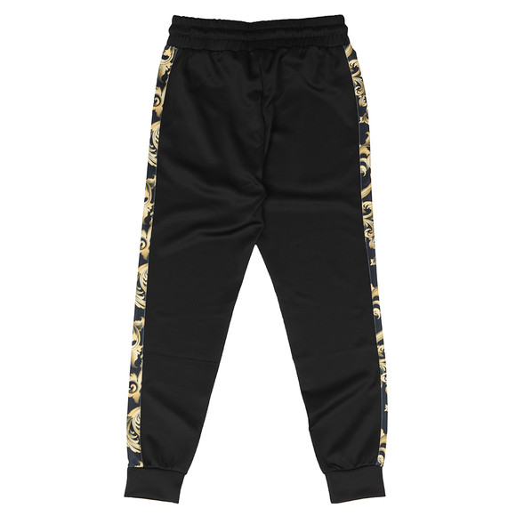 Sik Silk Mens Black Venetian Taped Cropped Pants main image