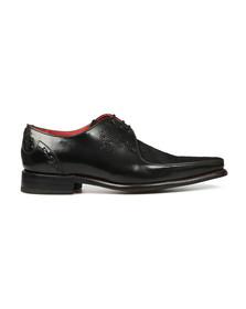 Jeffery West Mens Black Joint  Melly Shoe