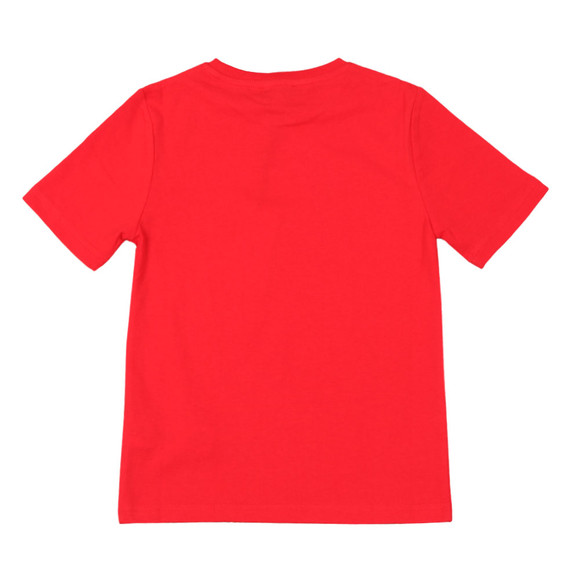 BOSS Bodywear Boys Red Boys J25D13 Logo T Shirt main image