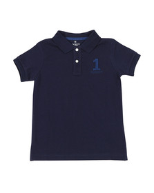 Hackett Boys Blue Boys New Classic Number Polo