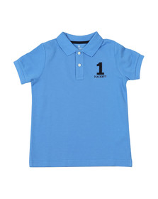 Hackett Boys Blue New Classic Number Polo
