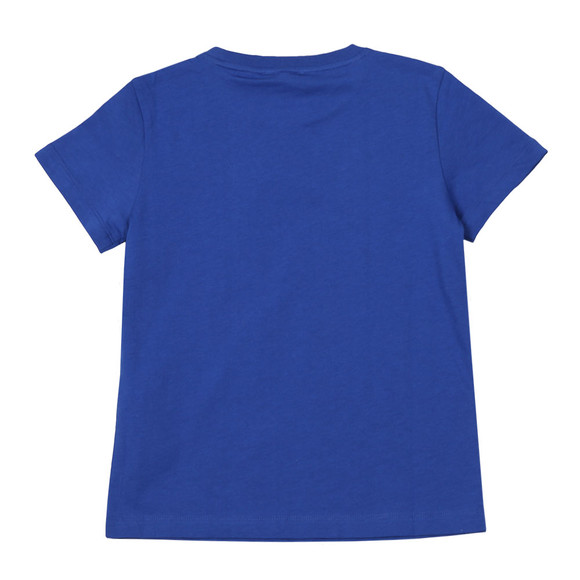 EA7 Emporio Armani Boys Blue Small  Logo T Shirt main image