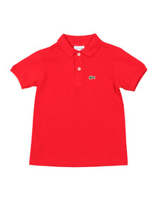 Lacoste Boys Red PJ2909 Polo Shirt
