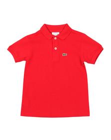 Lacoste Boys Red PJ2909 Polo Shirt