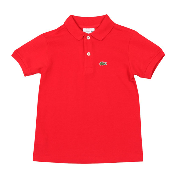 Lacoste Boys Red PJ2909 Polo Shirt main image
