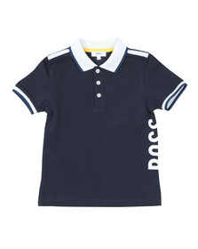 BOSS Bodywear Boys Blue J25C74 Polo Shirt