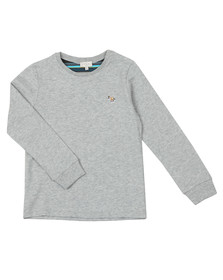 Paul Smith Junior Boys Grey Sullivan 2 Long Sleeve Tee